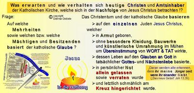 Basis des Christentums, Kirche, Mobbing